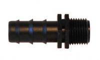 """Фитинг MC012012, Коннектор 20мм х 1/2"""" М наруж"""