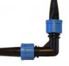 Фитинг ET0117, Г-образный коннектор К/Л 16мм х К/Л 16 мм